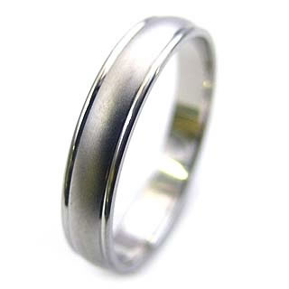 Wedding ring wedding ring Platinum pairing ♪ monogrammed initials engraved Platinum rings wedding Bridal jewelry as a popular ring ring.
