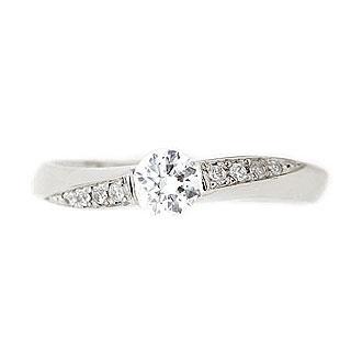 ペアリング ( Brand Jewelry fresco ) プラチナ ダイヤモンドリング(婚約指輪・結婚指輪)【楽ギフ_包装】