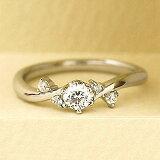 【今なら Brand Jewelry fresco ) プラチナ ダイヤモンドリング(婚約指輪・結婚指輪)【楽ギフ包装】