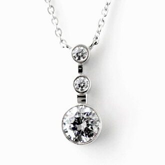 Necklace Swarovski pendant necklace -QP lapping free of charge◆