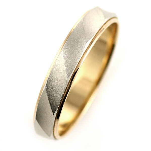 ( Brand Jewelry Oferta ) プラチナ950・K18ピンクゴールドペアリング(結婚指輪)【楽ギフ_包装】