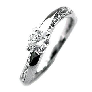 訂婚戒指訂婚戒指鑽石訂婚戒指 DIA en 量具 ♪ 建議訂婚戒指鑽石戒指撥號 & 配備了保修證書 ★ 簡單圓的輝煌五穀石字元帶圈