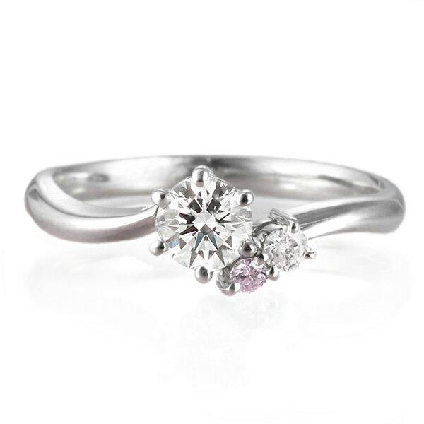 婚約指輪 ダイヤモンド 鑑別書付き エンゲージリ...の商品画像