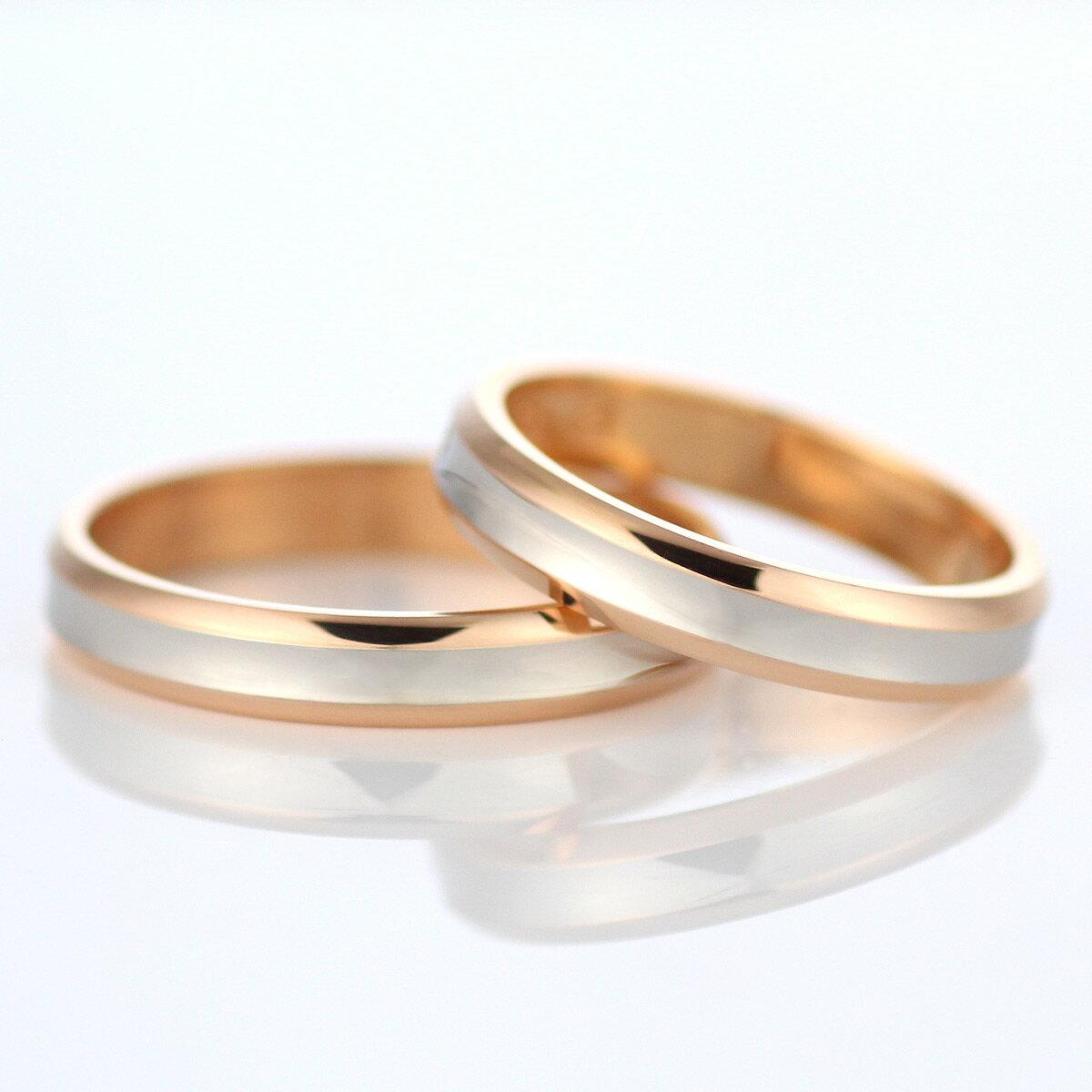 【スーパーSALE】メンズリング 結婚指輪 マリッジリング ペアリング プラチナ ゴールド 2本セット 【_包装】 【店内全品ポイントアップ中!!】【2016 ジュエリー大賞受賞のお店☆】【刻印無料】【納期通常1~2週間】結婚指輪 マリッジリング プレゼント ギフト