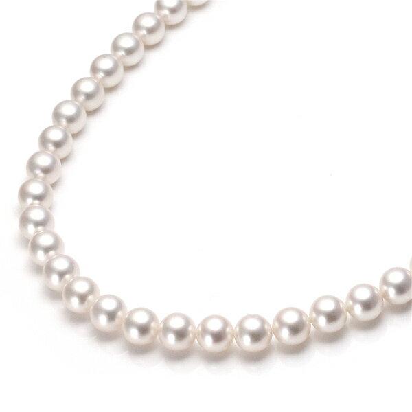 パールネックレス アコヤ真珠 あこや真珠 本真珠 ネックレス 冠婚葬祭 パール ネックレス【楽ギフ_包装】