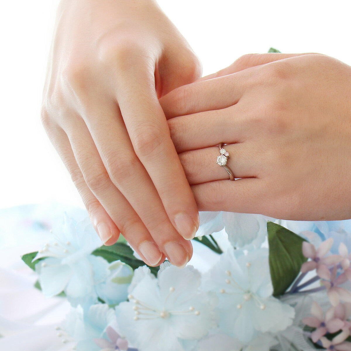 婚約指輪 ダイヤモンド 鑑別書付き エンゲージ...の紹介画像2