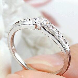 ☆Pt950【0.18ct】ダイヤモンド ピン...の紹介画像2