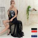 キャバドレス ドレス キャバ ロング キャバクラドレス ナイトドレス テールカット Jewel ジュエル レース シフォン テールカットドレス
