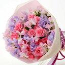 【春のお花・花束・スイートピー】お祝い・お誕生日・結婚祝・出...