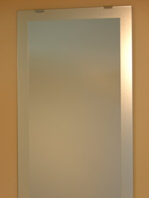 姿見 姿見鏡【JHAデザインミラー】 シンプル1 W350×H1500【ビス用】(フレームレスミラー ノンフレーム 玄関 全身鏡 全身ミラー おしゃれ 店舗)