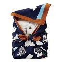 ショッピングくるみ 【送料込み】【ポイント5倍】【送料無料】(名入れ)女の子紺色 NEWおくるみ米(オクルミ・OKURUMIMAI)【出産内祝いギフトに最適です。】