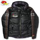 クレイスミス ジャケット レザージャケット ジャンパー ブルゾン アメカジ バイク 冬用 防寒 防風 オリオンエース ClaySmith GENERAL ブラック_AP-CSY8321BK-MON