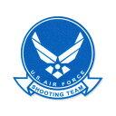 ショッピングエアフォース ミリタリー ステッカー US AIR FORCE エアフォース シューティングチーム アメリカン 車 おしゃれ かっこいい アウトドア スーツケース バイク カーステッカー ウイング 転写 【メール便OK】_SC-009-MIG