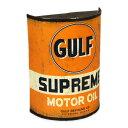 ショッピングdsi GULF ガルフ サイン 看板 オイル缶 おしゃれ アンティーク レトロ 壁 飾り メンズ ガレージ かっこいい ウォールデコ アメリカ アメリカン雑貨 US EMBOSSED SIGN_SP-209460-UNT