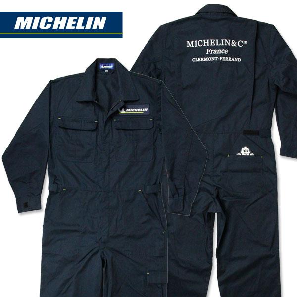 ミシュラン つなぎ ジャンプスーツ 作業着 メンズ 長袖_AP-001-M2S...:jicoman:10006683