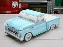 ショッピング ミニカー アメ車 ペーパークラフト 小物入れ トレー '57シボレー3100 ピックアップトラック ブルー アメリカ アメリカン雑貨_MN-IGK27048BL-MON(05P03Dec16)