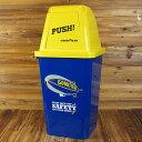 ショッピングゴミ箱 グッドイヤー ゴミ箱 おしゃれ ふた付き スイング式 アメリカ 雑貨 アメリカン雑貨 GOOD YEAR 約20リットル_DB-001-SHO