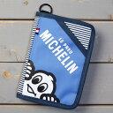 ショッピング ミシュラン スマートフォン ポーチ ケース スマホケース iPhone カードケース パスポートケース ブックカバー MICHELIN 旅行 アウトドア ストライプ_SA-231988-M2S