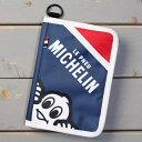 ショッピング ミシュラン スマートフォン ポーチ ケース スマホケース iPhone カードケース パスポートケース ブックカバー MICHELIN 旅行 アウトドア トリコロール_SA-231995-M2S