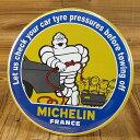 ショッピング ミシュラン サインプレート 看板 サインボード ガレージ Tire Pressure アメリカ アメリカン雑貨_SP-270369-M2S(05P03Dec16)