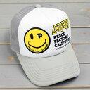 ショッピング メッシュキャップ アメカジ メンズ レディース 帽子 夏 おしゃれ ワーク ピースキャップ スマイル_CP-PUP15-SHO