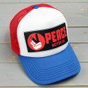 ショッピングメッシュキャップ メッシュキャップ アメカジ メンズ レディース 帽子 夏 おしゃれ ワーク ピースキャップ パロディ テキサコ_CP-PUP19-SHO