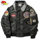 クレイスミス ジャケット フライトジャケット ミリタリー ジャンパー ブルゾン バイク 冬用 ClaySmith ANNIES ガンメタ_AP-CSY6170GM-MON(05P03Dec16)
