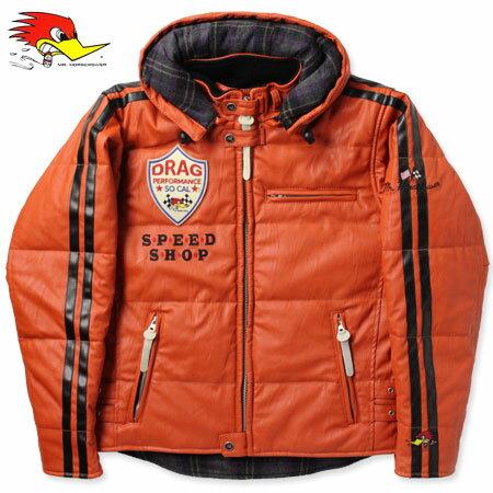 クレイスミス ジャケット レザージャケット ジャンパー ブルゾン バイク 冬用 ClaySmith EDDY オレンジ_AP-CSY6171OR-MON