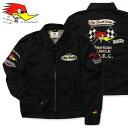 クレイスミス ジャケット スイングトップ ジャンパー ブルゾン メンズ バイク バイカー ファッション アメカジ Clay Smith CHARGING ブラック_AP-CSY7190BK-MON