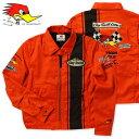 クレイスミス ジャケット スイングトップ ジャンパー ブルゾン メンズ バイク バイカー ファッション アメカジ Clay Smith CHARGING-C オレンジ_AP-CSY7190COR-MON
