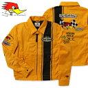 クレイスミス ジャケット スイングトップ ジャンパー ブルゾン メンズ バイク バイカー ファッション アメカジ Clay Smith CHARGING-C イエロー_AP-CSY7190CYE-MON