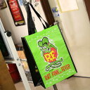 ショッピング ラットフィンク バッグ エコバッグ トートバッグ 折りたたみ キャラクター アメリカ ホットロッド Rat Fink 【メール便OK】_BG-RAF475-MON