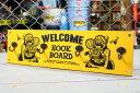 ショッピングリビング ラットフィンク フックボード 壁掛け ハンガー 木製 RAT FINK アメリカ アメリカン雑貨 イエロー_SR-RAF482YE-MON