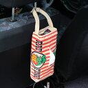 ラットフィンク ティッシュケース 壁掛け おしゃれ 車 縦 ティッシュカバー キャラクター Rat Fink アメリカ アメリカン雑貨 レッドストライプ 【メール便OK】_TC-RAF503RDS-MON