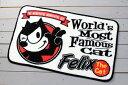 ショッピング玄関マット フィリックス・ザ・キャット 玄関マット 室内 屋内 フロアーマット バスマット おしゃれ フィリックス グッズ FELIX THE CAT アメリカ 雑貨 アメリカン雑貨 WINK_FM-KGAZF423B-MON