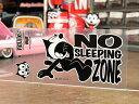 ショッピングSleep フィリックス・ザ・キャット ステッカー 車 アメリカン キャラクター おしゃれ バイク ヘルメット かっこいい フィリックス グッズ 雑貨 猫 カーステッカー FELIX THE CAT 転写タイプ NO SLEEPING ZONE 【メール便OK】_SC-KGAZF3349-MON