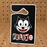 布拉下Gemashou后视镜!菲利克斯(费利克斯)Pakingupamittofeisu[フィリックス・ザ・キャット パーキングパーミット FELIX THE CAT FACE_PP-KGAZF348C-MON]