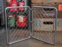 ショッピングフェンス ミニアメリカンスチールフェンス(金網)セット アメリカ アメリカン雑貨 【メール便OK】_ZZ-010-FEE