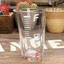ショッピングタンブラー グラス コップ ガソリン メーター 面白い ジョーク 宴会 アウトドア パーティー ホワイト アメリカ アメリカン雑貨_TW-003WH-HYS