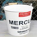 ショッピング洗濯機 マーキュリー バケツ 洗濯機 おしゃれ ブリキ MERCURY 洗車 キャンプ アウトドア アメリカ アメリカン雑貨 ホワイト_MC-C118WH-MCR