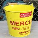 ショッピング洗濯機 マーキュリー バケツ 洗濯機 おしゃれ ブリキ MERCURY 洗車 キャンプ アウトドア アメリカ アメリカン雑貨 イエロー_MC-C118YE-MCR
