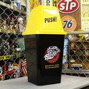 ショッピングダストbox ゴミ箱 おしゃれ ふた付き ダストボックス スイング インテリア アメ車 アメリカ アメリカン雑貨 約20リットル DRIVE IN BURGER_DB-007-SHO
