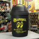 ショッピングゴミ箱 ムーンアイズ ゴミ箱 35リットル ふた付き おしゃれ スイング式 アメリカ アメリカン雑貨 MOONEYES ブラック_DB-MG794BK-MON