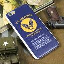 ショッピングFORCE ミリタリー iPhone6 iPhone6S ケース カバー US AIR FORCE アメリカ空軍 アイフォン6 ケース ネイビー 【メール便OK】_SA-AF11H-MLP