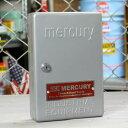 ショッピングシューズボックス マーキュリー キーボックス 壁掛け インテリア おしゃれ MERCURY 鍵 収納 アメリカ アメリカン雑貨 シルバー_MC-C110SL-MCR