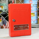 ショッピング下駄 マーキュリー キーボックス 壁掛け インテリア おしゃれ MERCURY 鍵 収納 アメリカ アメリカン雑貨 レッド_MC-C110RD-MCR