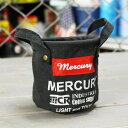 ショッピングバケツ マーキュリー キャンバスミニバケツ ペンスタンド 小物入れ 植物 アメリカ アメリカン雑貨 ブラック_MC-MECAMBBK-MCR