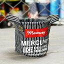 ショッピングバケツ マーキュリー キャンバスミニバケツ ペンスタンド 小物入れ 植物 アメリカ アメリカン雑貨 ヒッコリー_MC-MEHIMB-MCR