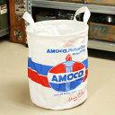 ショッピングゴミ箱 フレキシブルバッグ ファブリック バスケット ゴミ箱 収納 小物入れ アモコ AMOCO アメリカ アメリカン雑貨 サイズS_SR-396366-SHO
