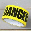 DANGER テープ 粘着テープ 梱包 包装 ハロウィン ディスプレイ デコレーション パーテ...